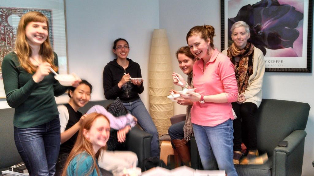 Enjoying New Historicist Ice Cream, sent to us by seminar alum Jess Holler.